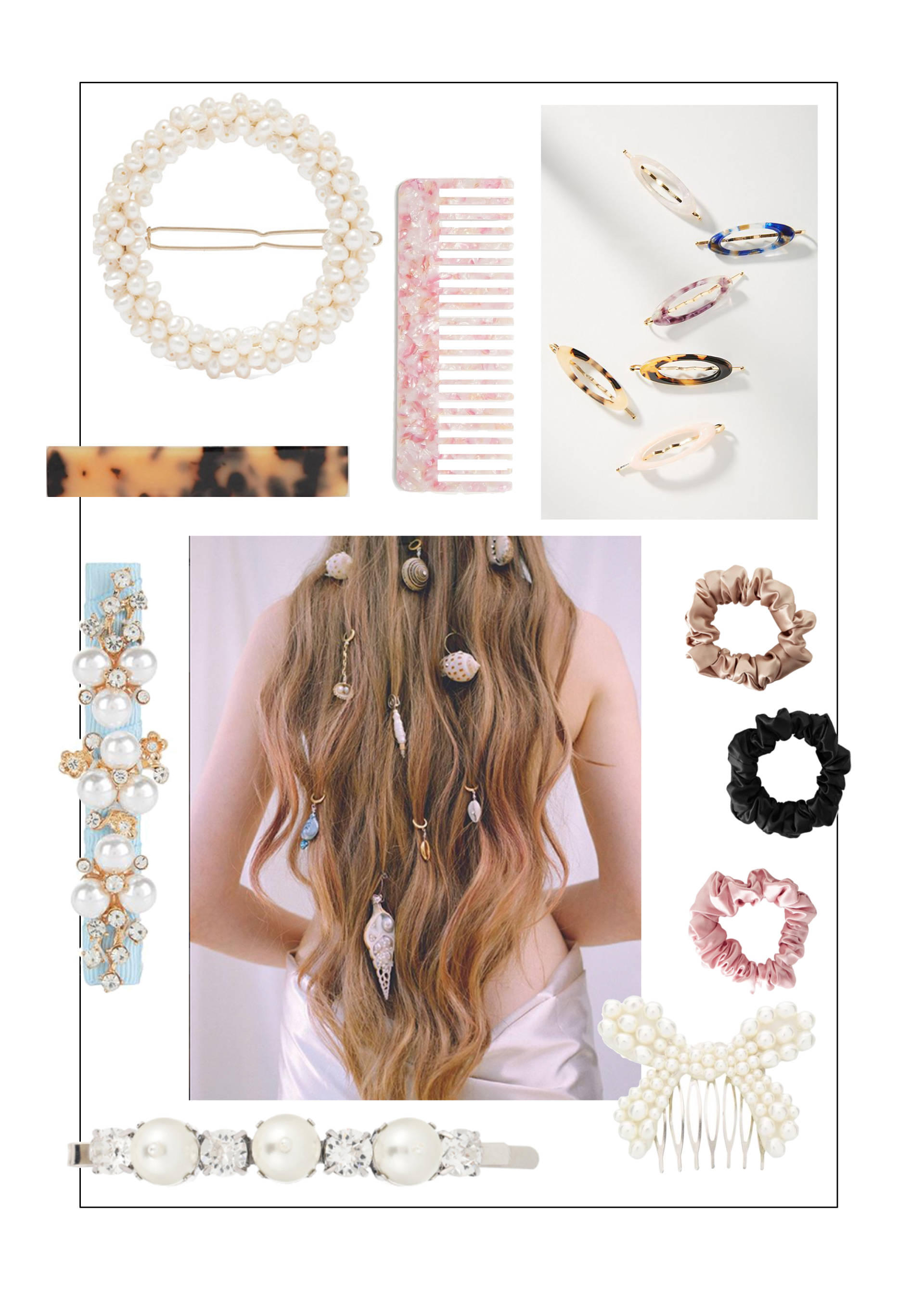 pearls_tortoise_shells_hair_clips